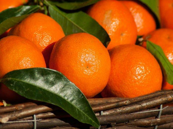 para que sirve comer mandarina