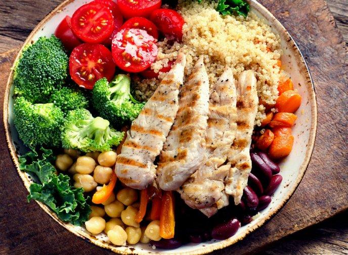 Se puede bajar de peso comiendo ensaladas