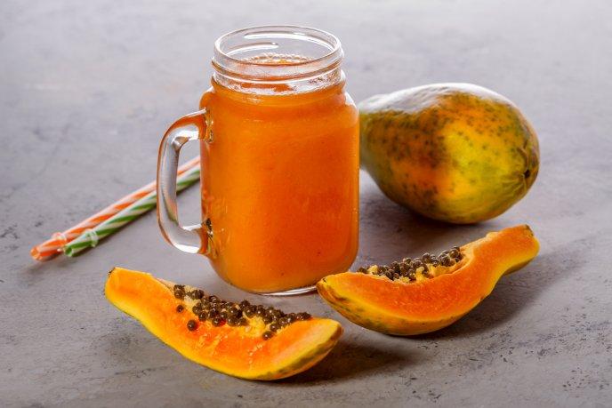 para q sirve la avena con papaya