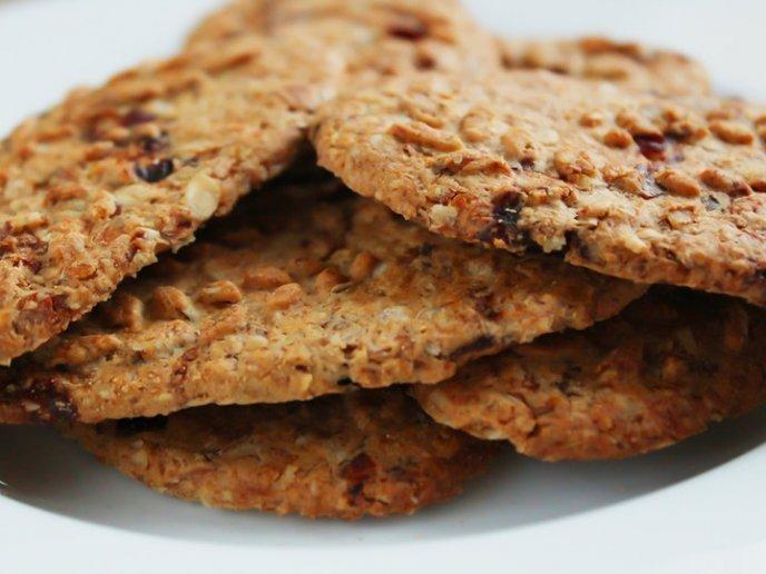 Galletas De Avena Con 3 Ingredientes Y Sin Azúcar
