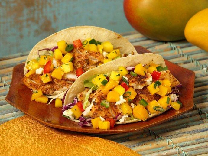 Salsa de mango con habanero para tacos Â¡solo para valientes!