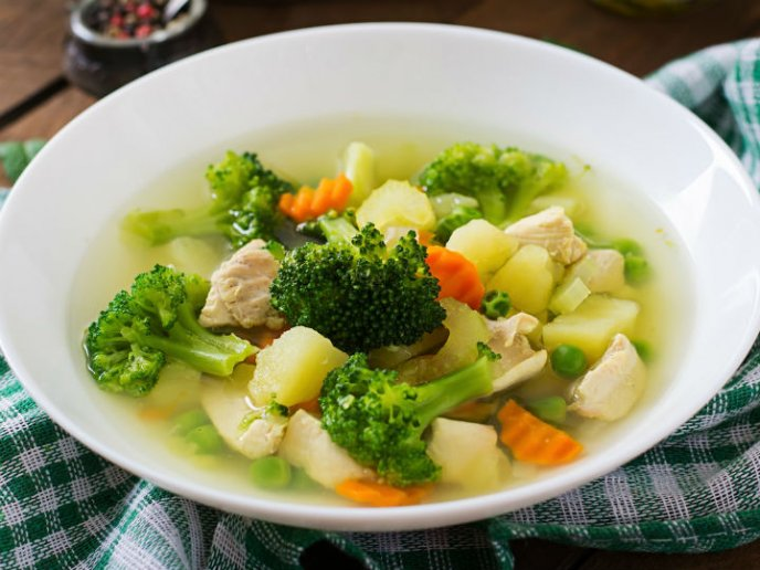 menu para dieta blanca y blanda