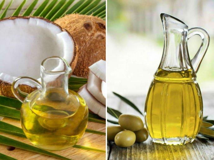 aceite de coco vs aceite de oliva