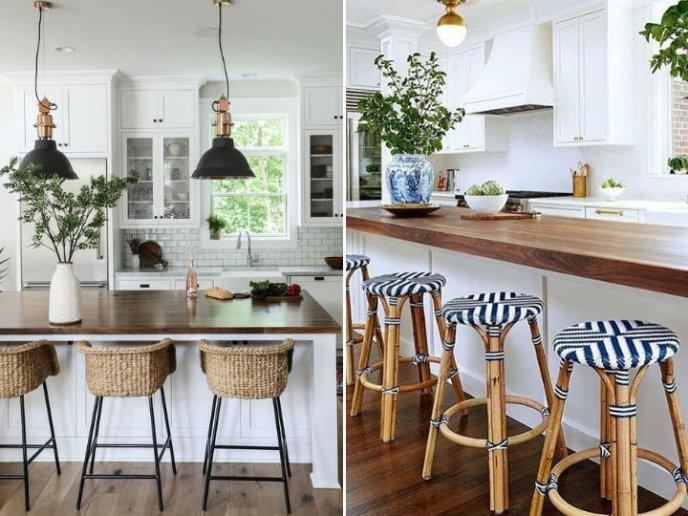 estilos de sillas para la cocina