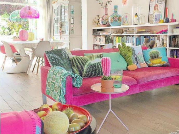 Sillones Coloridos.Estilos Coloridos Para La Casa