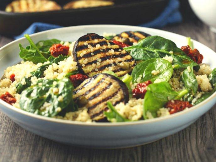 comidas con quinoa saludables