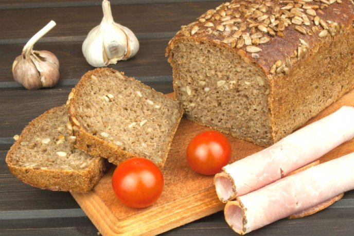 receta de pan integral facil