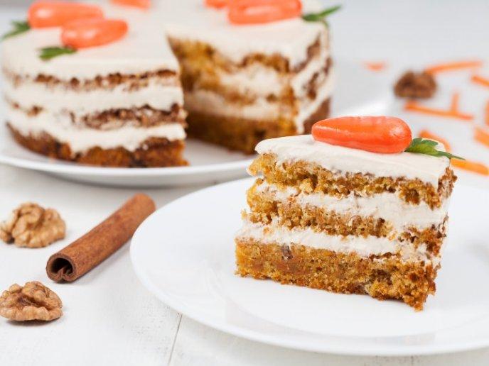Receta De Pastel De Zanahoria Esponjoso Sin Gluten Cocinadelirante