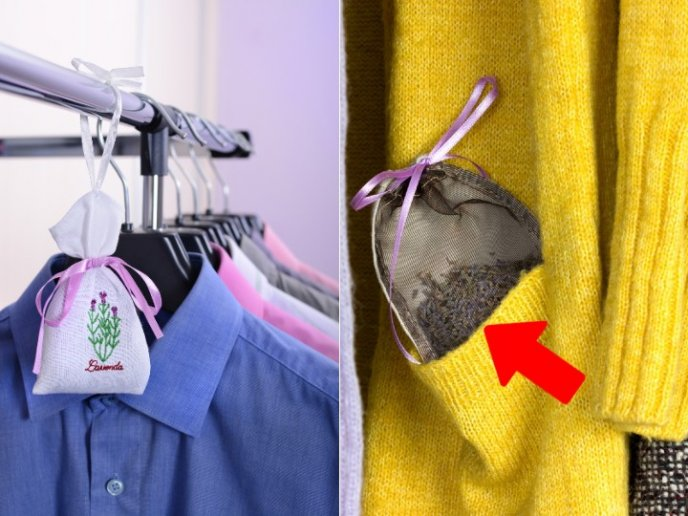 como hacer un aromatizante para el closet