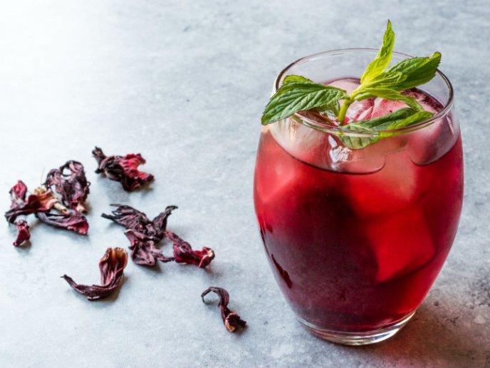recetas de bebidas y postres con flor de Jamaica