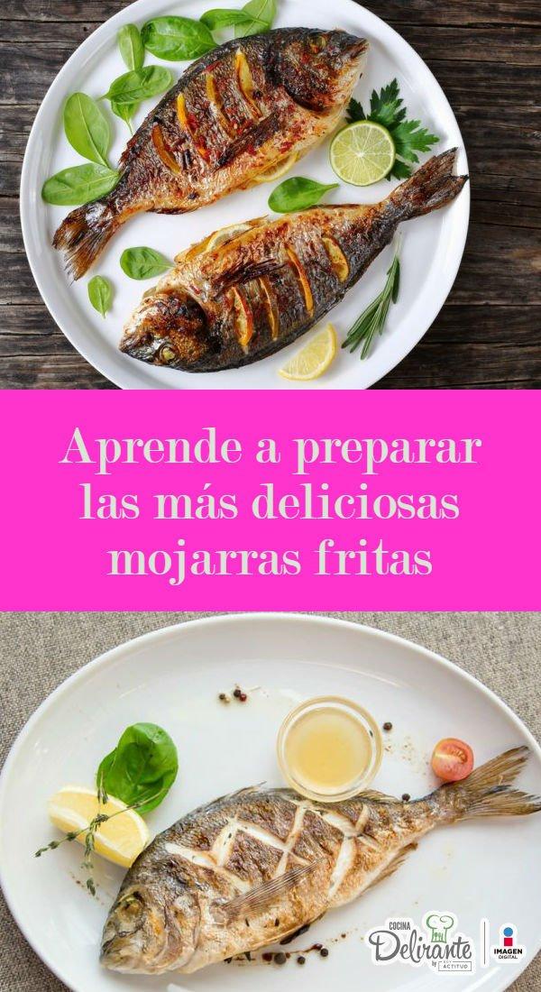 Mojarras Fritas Al Mojo De Ajo Cocinadelirante