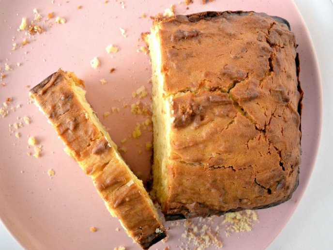 panque con harina de hotcakes
