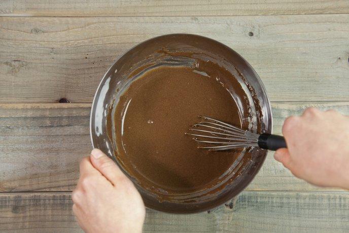 bolo de aveia com cacau