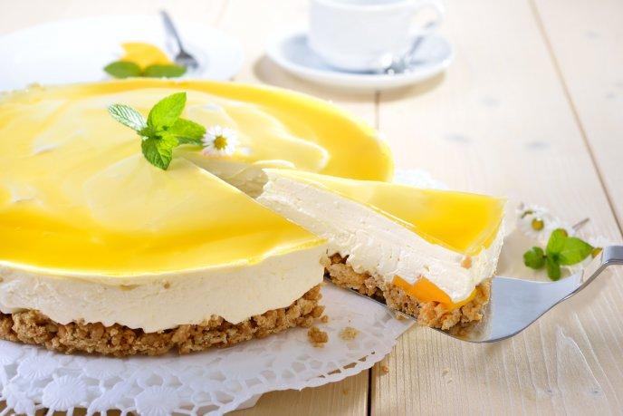 receta facil de pay de mango sin horno leche condensada
