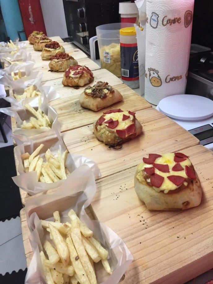 pizza de hamburguesa en cdmx