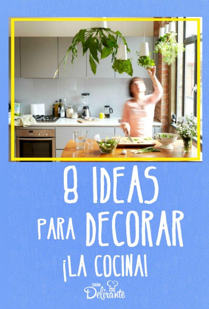 Decorar La Cocina Con Plantas Cocinadelirante