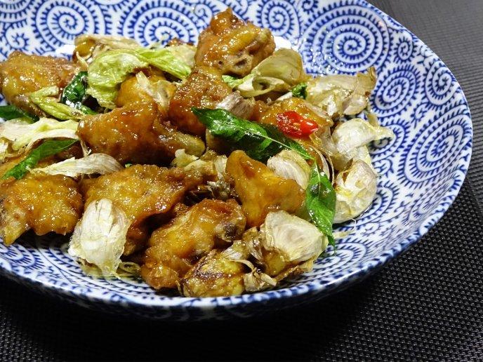 pollo con salsa de limon agridulce