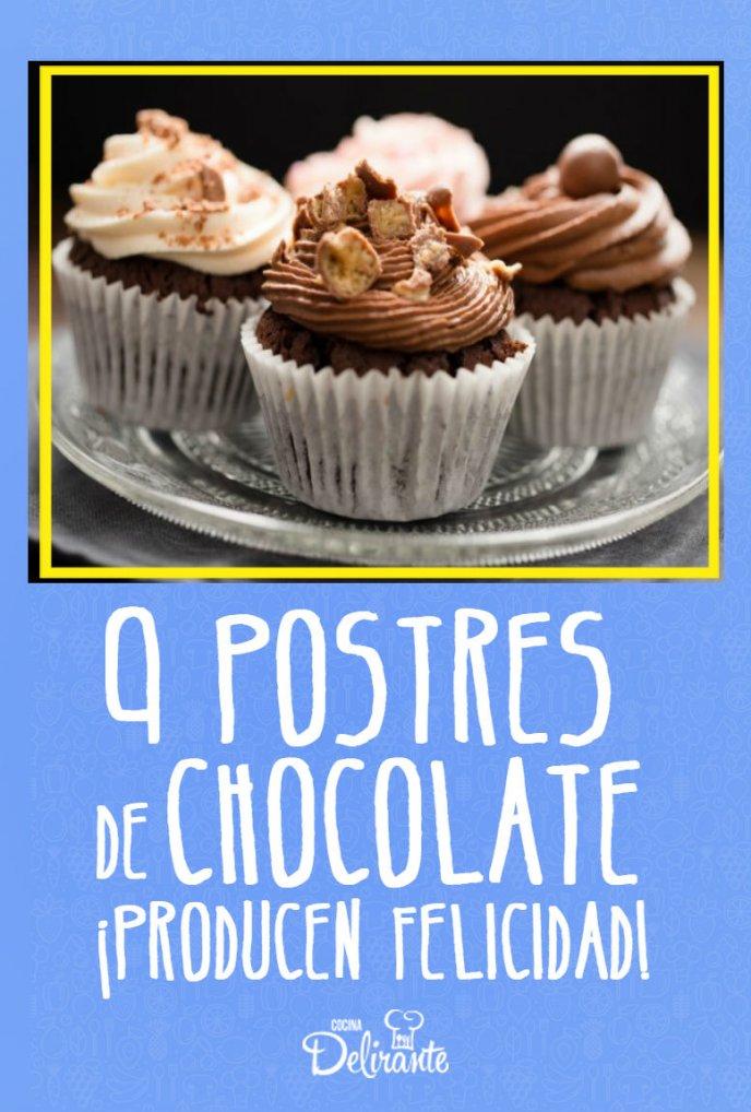 Postres De Chocolate Que Producen Felicidad Cocinadelirante