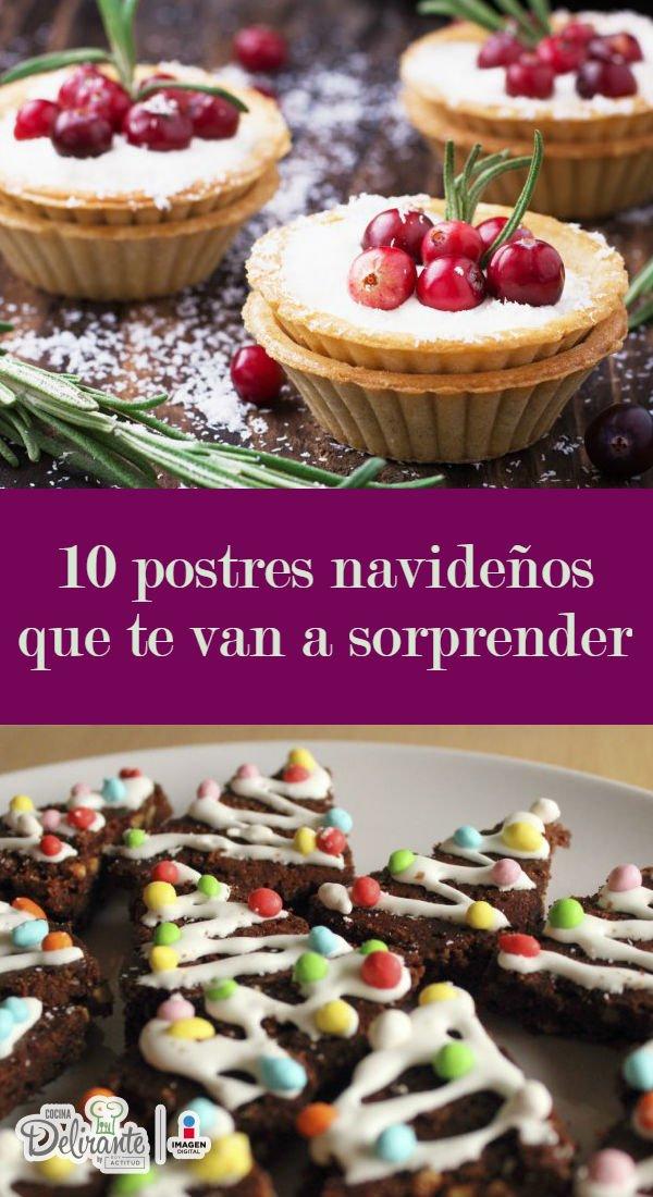 Recetas De Postres Navideños Cocinadelirante