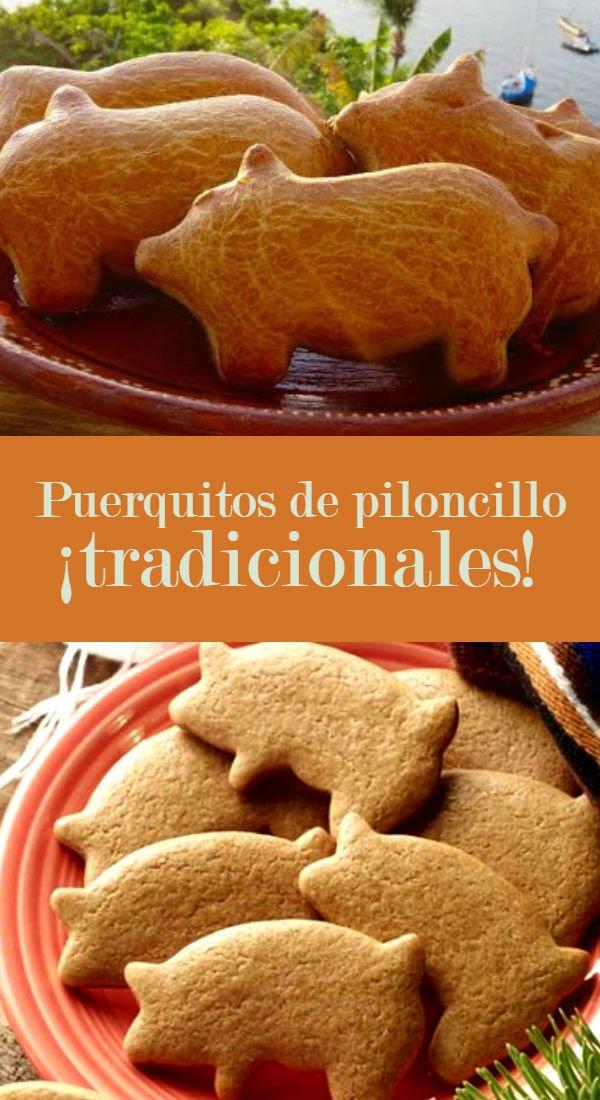 Receta De Puerquitos De Piloncillo Cocinadelirante