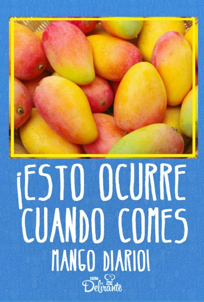 que ocurre cuando comes mango diario