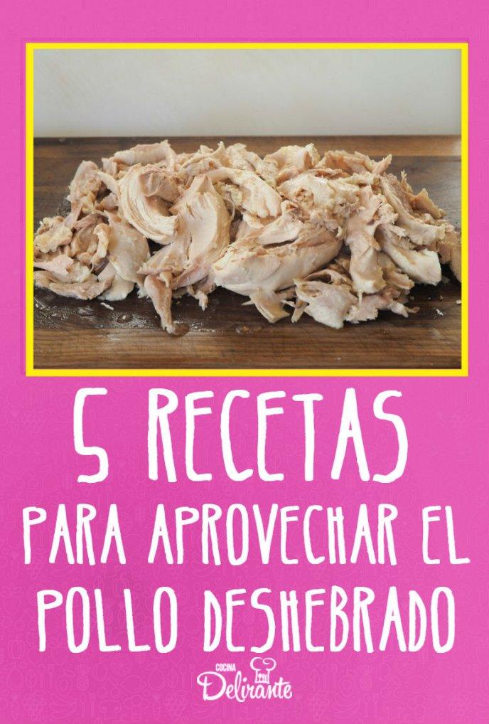 5 Deliciosas Recetas Con Pollo Deshebrado Cocina Delirante