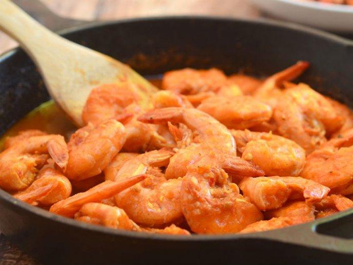 receta camarones en adobo