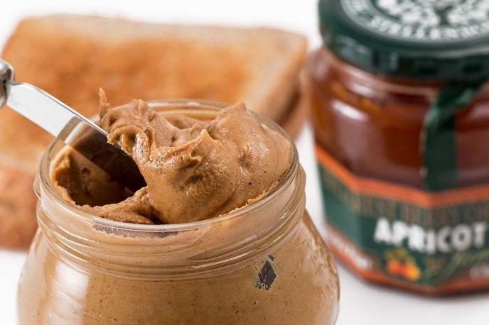 receta casera mantequilla de cacahuete sin azúcar