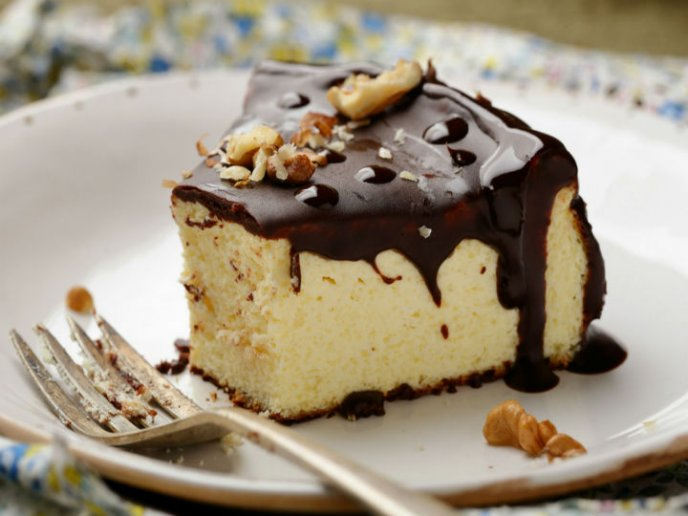 receta cheesecake con chocolate y baileys
