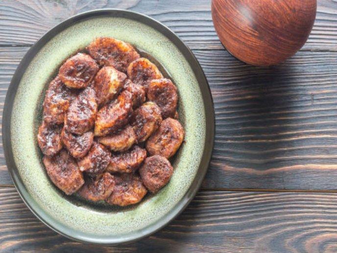 receta churros de platano
