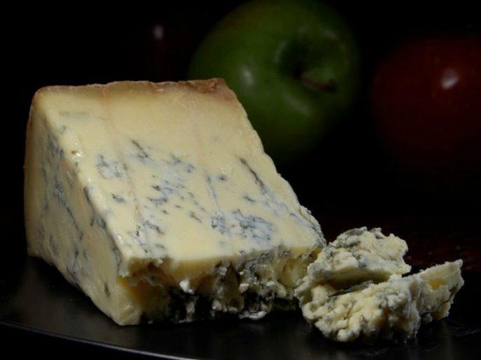 receta crema de queso azul con uvas