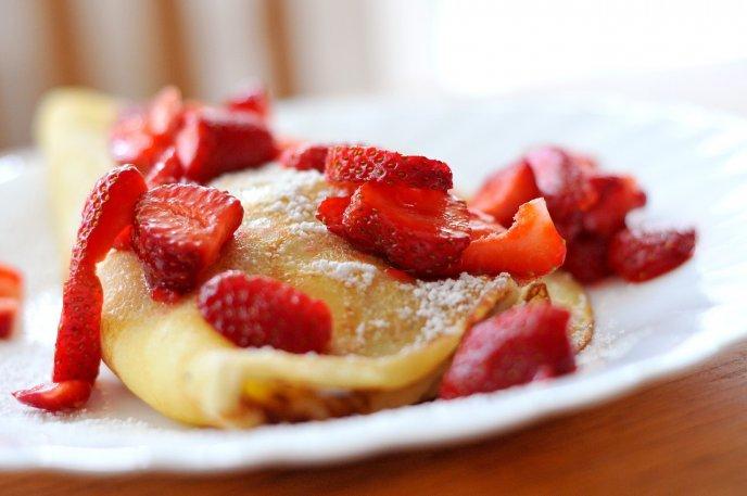 receta Crepas con harina de hotcakes