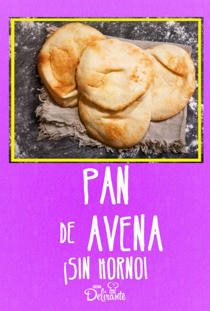 receta de pan de avena en sarten