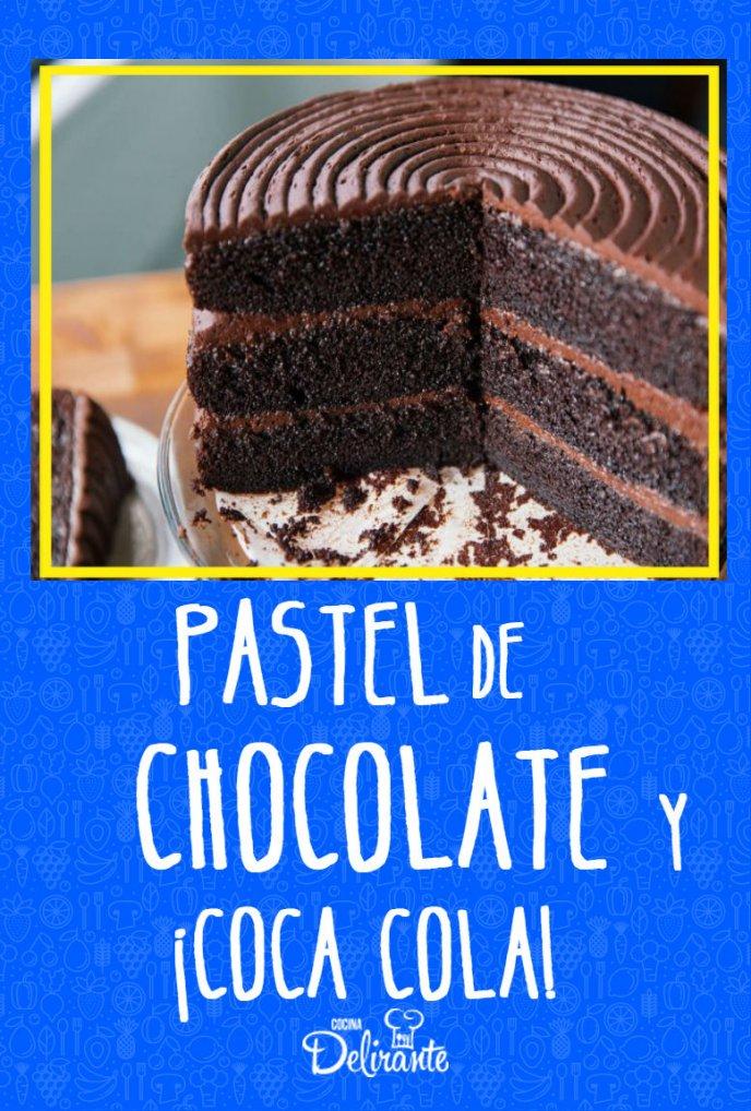 receta de pastel de chocolate con coca cola