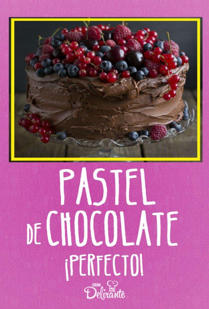 receta de pastel de chocolate facil