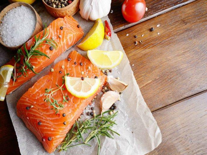 receta de salmón con cítricos