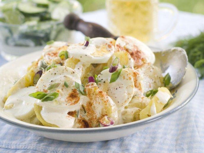 receta facil de ensalada de papa cremosa espectacular