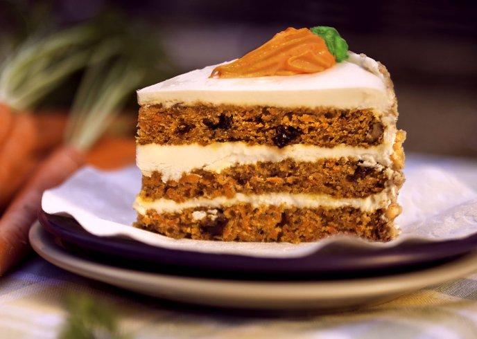 Esponjoso Pastel De Zanahoria Con Piña En Almíbar Receta Fácil