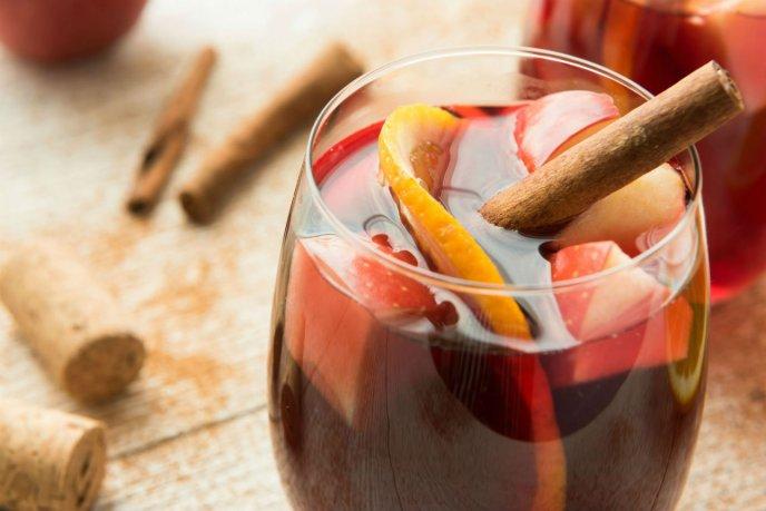 receta facil de ponche con fruta