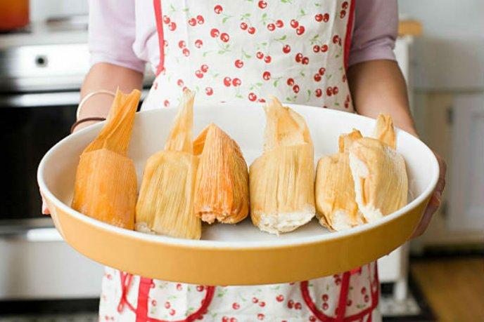 receta facil de tamales con carne