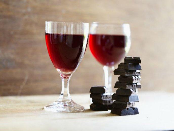 receta galletas de chocolate con vino tinto en horno