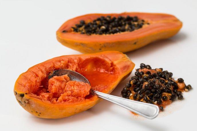 receta licuado de papaya