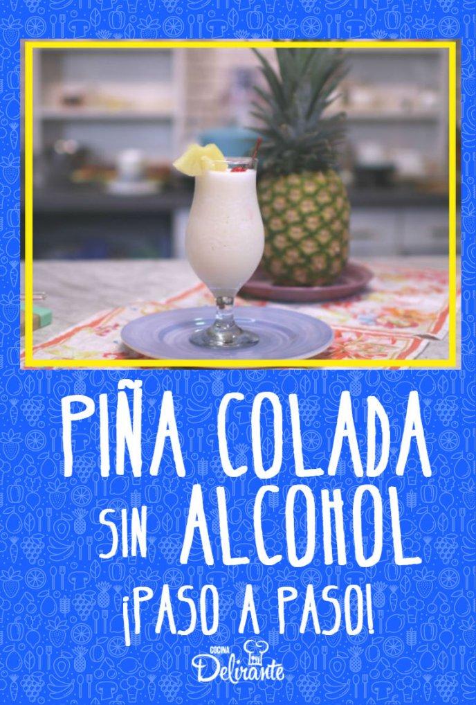 Deliciosa Piña Colada Sin Alcohol Paso A Paso