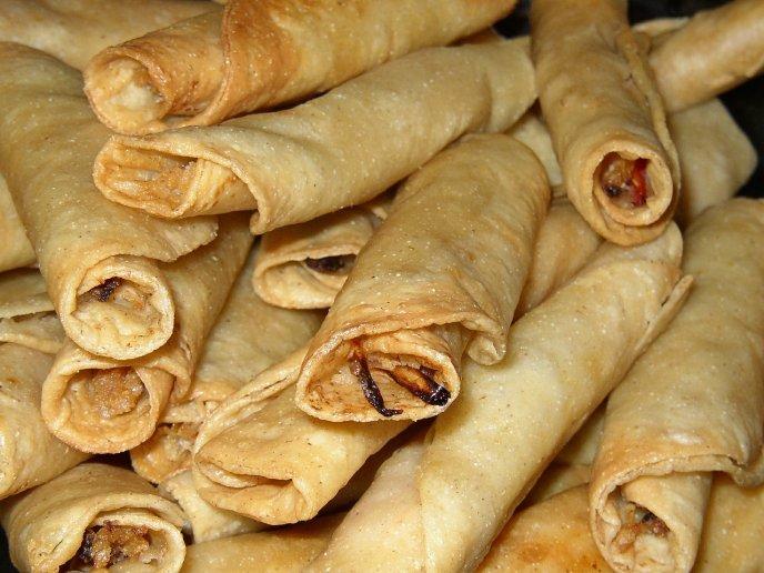 receta tacos dorados de camaron facil