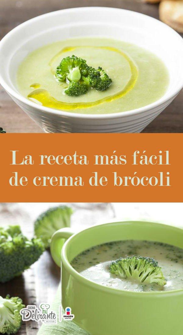 La Receta Más Fácil De La Crema De Brócoli