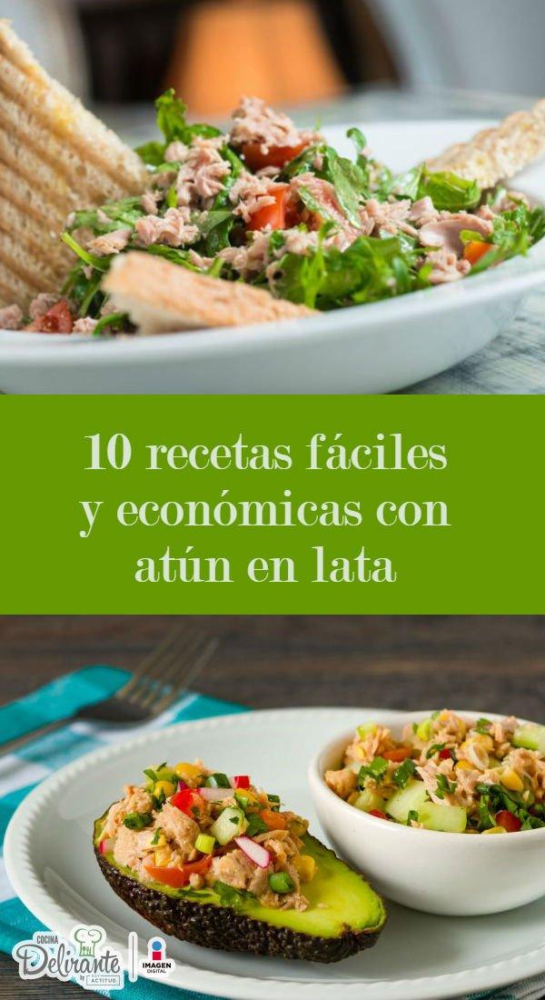 Recetas faciles con atun en lata cocinadelirante for Comidas faciles de preparar y economicas