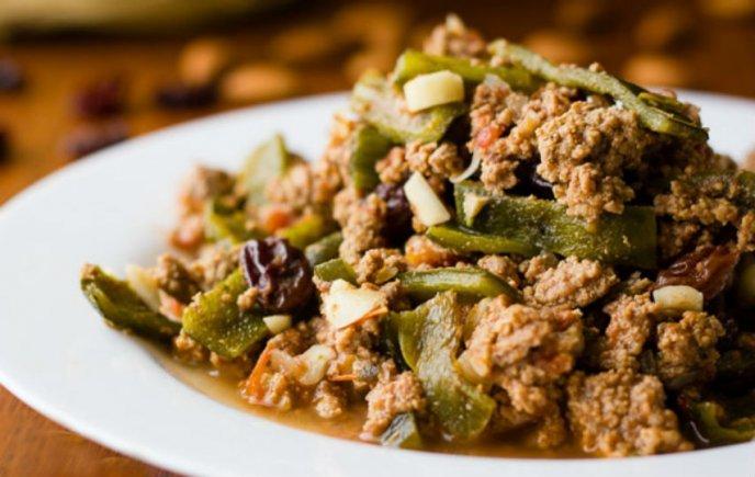recetas con chile poblano