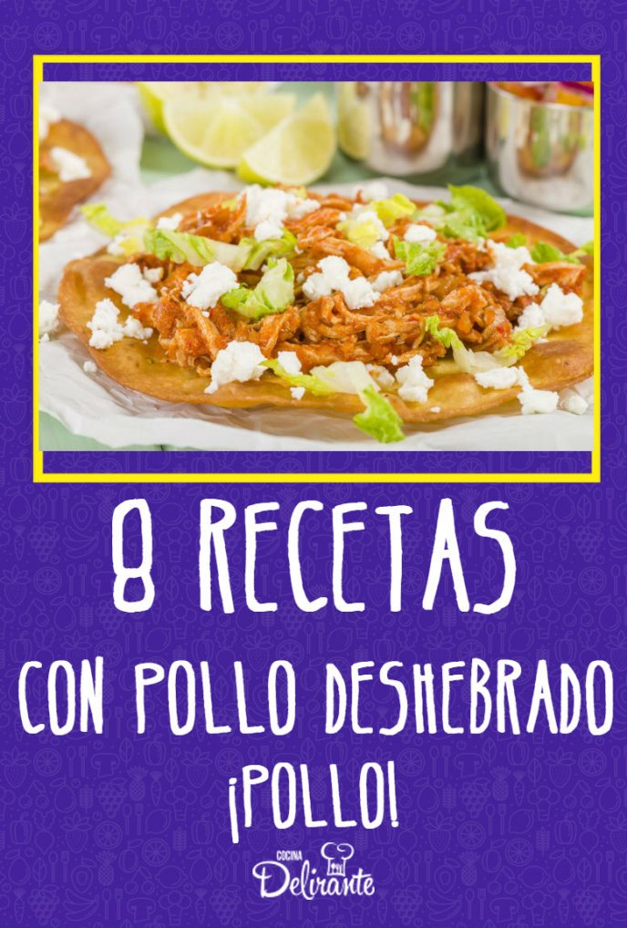 Image Result For Recetas De Cocina De Pollo Deshebrado