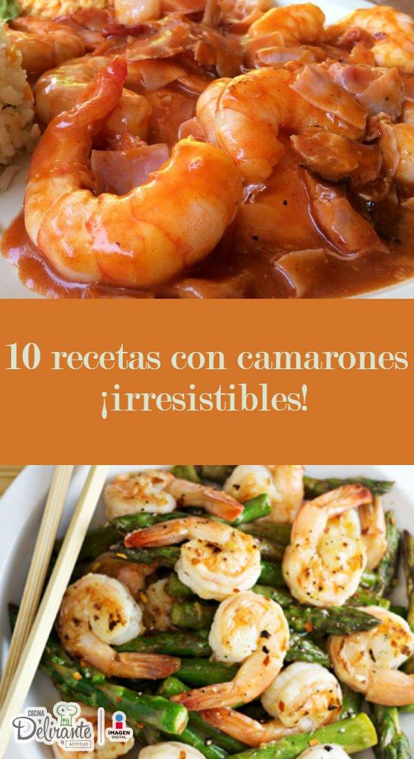 Recetas Con Camarones Cocinadelirante