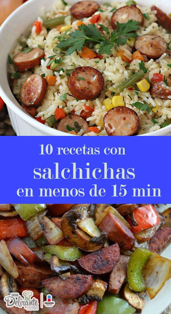 Recetas Faciles Y Rapidas Con Salchichas Cocinadelirante